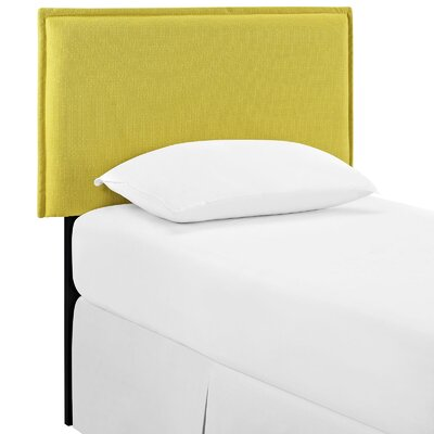 Chmura Upholstered Panel Headboard Size: Twin, Upholstery: Sunny
