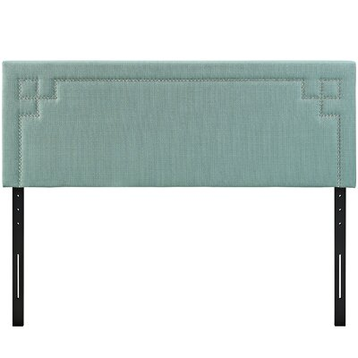 Josie Upholstered Panel Headboard Upholstery: Laguna, Size: Queen