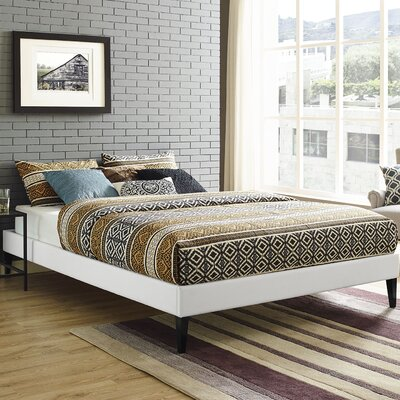 Sharon Platform Bed Color: White