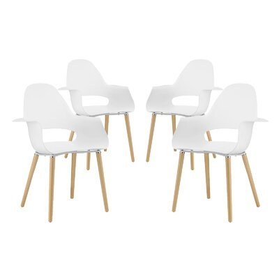 Soar Arm Chair Finish: White