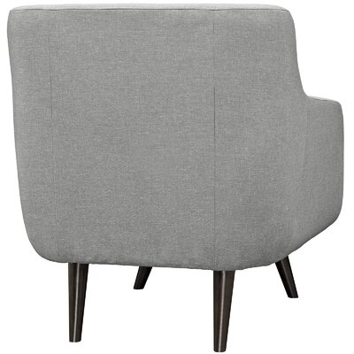 Verve Armchair Upholstery: Light Gray