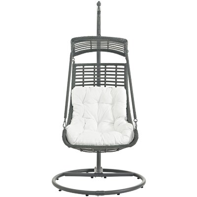 Jungle Swing Chair with Stand Color: White