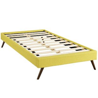 Helen Platform Bed Size: Twin, Color: Sunny