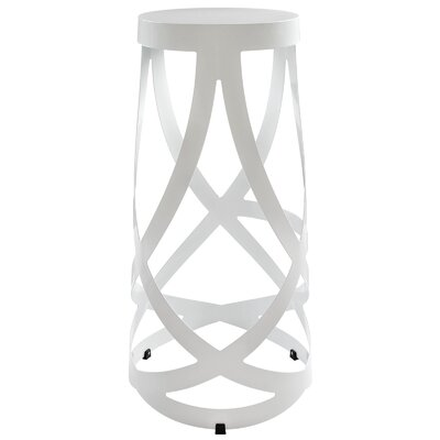 Ribbon 30 Bar Stool Color: White