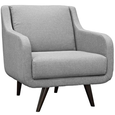 Verve 3 Piece Living Room Set Upholstery: Light Gray