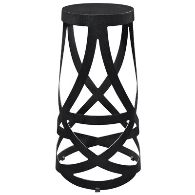 Ribbon 30 Bar Stool Color: Black