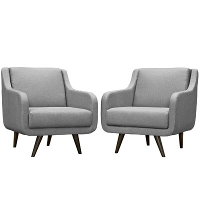 Verve Armchair Color: Light Gray
