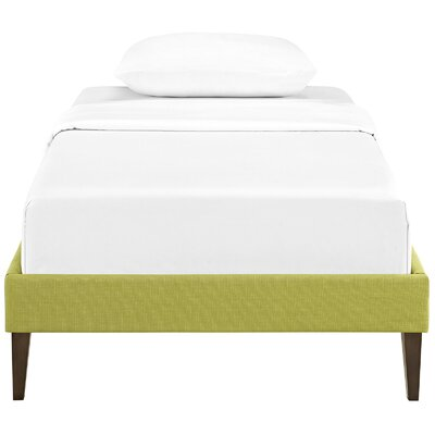 Sharon Platform Bed Size: Queen, Color: Wheatgrass