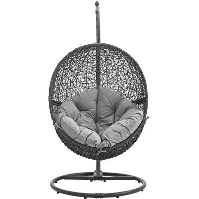 Cloak Swing Chair Color: Gray