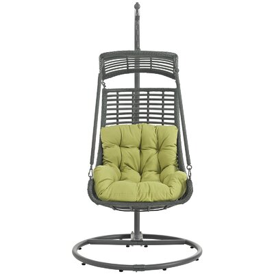 Jungle Swing Chair with Stand Color: Peridot