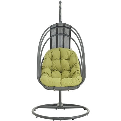 Whisk Swing Chair with Stand Color: Peridot