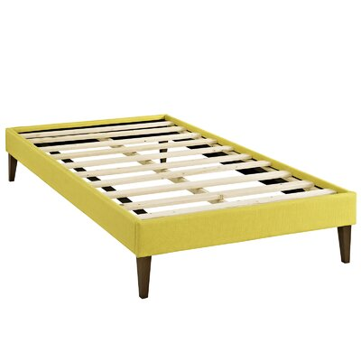 Sharon Platform Bed Size: Twin, Color: Sunny