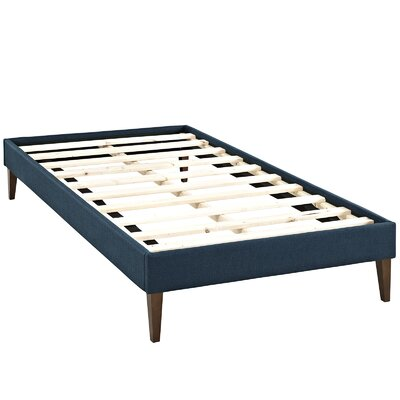 Sharon Platform Bed Size: King, Color: Azure