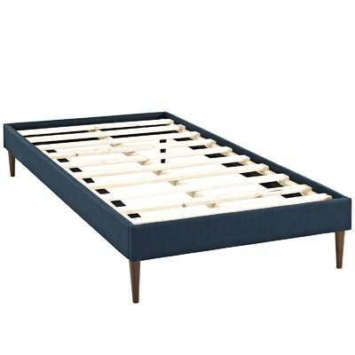 Sherry Platform Bed Size: King, Color: Azure
