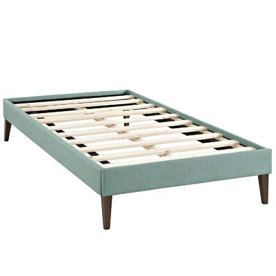 Sharon Platform Bed Color: Laguna, Size: King