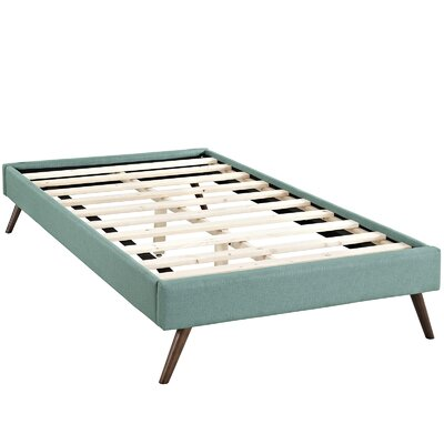 Helen Platform Bed Color: Laguna, Size: King