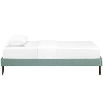 Sherry Platform Bed Size: King, Color: Laguna