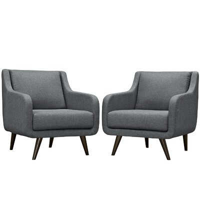 Verve Armchair Color: Gray