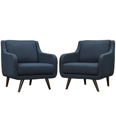 Verve Armchair Color: Azure