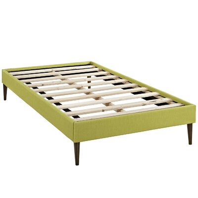 Sherry Platform Bed Size: Twin, Color: Wheatgrass