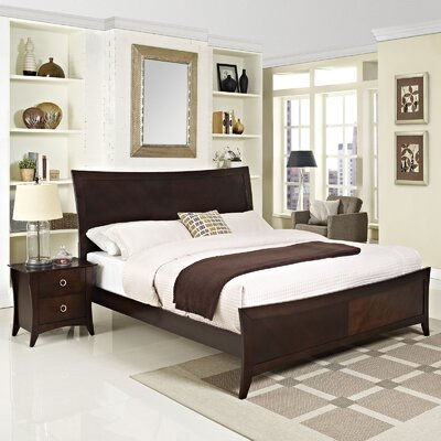 Elizabeth Platform 2 Piece Bedroom Set Size: Queen