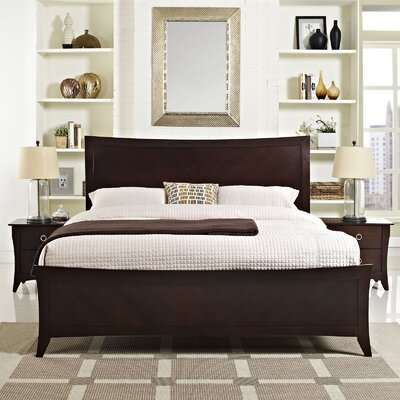 Elizabeth Platform 3 Piece Bedroom Set Size: Queen