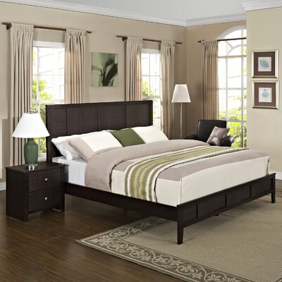 Holly Platform 2 Piece Bedroom Set Size: Queen
