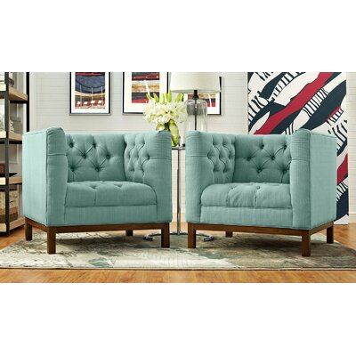 Panache Fabric Living Room Armchair Upholstery: Laguna