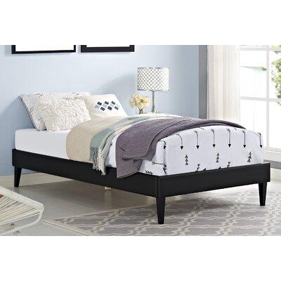 Sharon Platform Bed Color: Black
