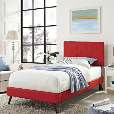 Terisa Upholstered Platform Bed
