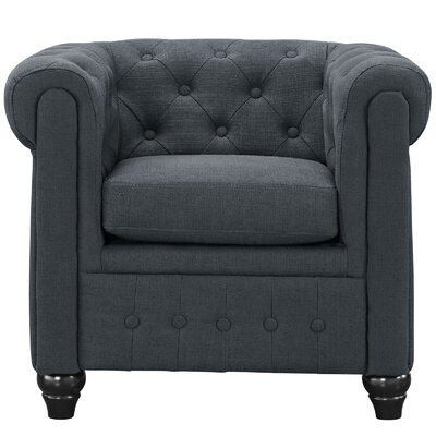 Earl Armchair Color: Gray