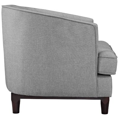 Coast 2 Piece Living Room Set Upholstery: Light Gray