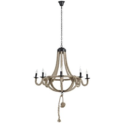 Coronet 8-Light Candle-Style Chandelier
