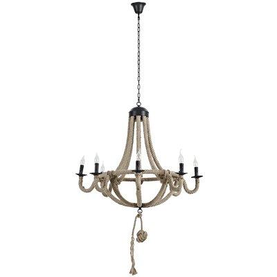 Coronet 8-Light Candle-Style Chandelier