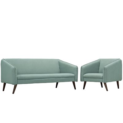 Slide 2 Piece Living Room Set Upholstery: Laguna