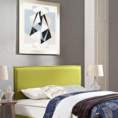 Sardina Upholstered Panel Headboard Size: Twin, Upholstery: Sunny