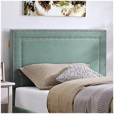 Eyre Twin Upholstered Wood Panel Headboard Upholstery: Laguna