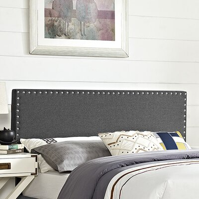 Phoebe Queen Upholstered Panel Headboard