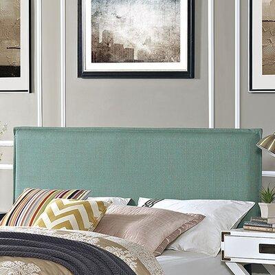 Camille Upholstered Panel Headboard Upholstery: Laguna, Size: King