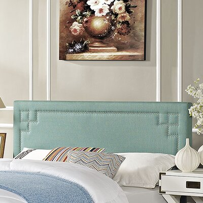 Josie Upholstered Panel Headboard Size: Full, Upholstery: Laguna