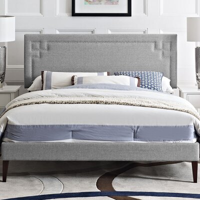 Josie Upholstered Platform Bed