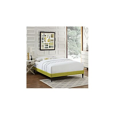 Sharon Platform Bed Color: Wheatgrass, Size: Queen