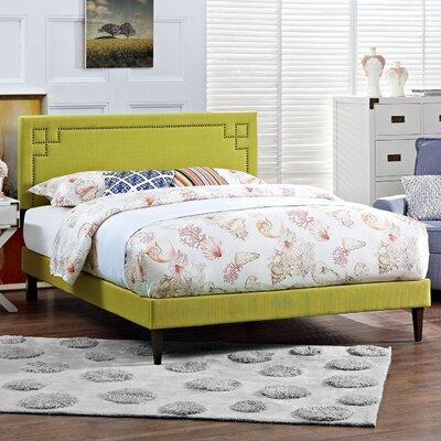 Josie Upholstered Platform Bed Size: Queen