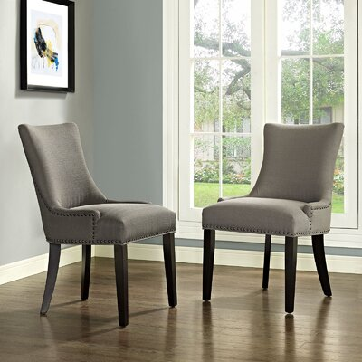 Dremil Arm Chair Upholstery: Granite