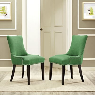 Dremil Arm Chair Upholstery: Green
