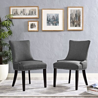 Dremil Arm Chair Upholstery: Gray