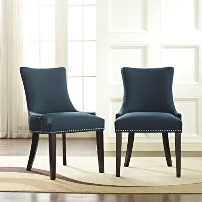 Dremil Arm Chair Upholstery: Azure
