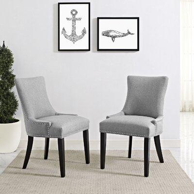 Dremil Arm Chair Upholstery: Light Gray