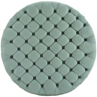 Amour Ottoman Upholstery: Polyester - Laguna