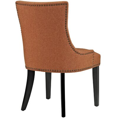 Dremil Arm Chair Upholstery: Orange
